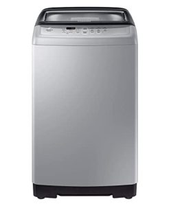 Samsung 6.5 kg Fully-Automatic Top Loading Washing Machine (WA65A4002VS/TL, Imperial Silver, Center Jet Technology)
