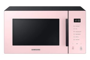 SAMSUNG 23 L Baker Series Microwave Oven (MG23T5012CP/TL, Pink, With Crusty Plate)